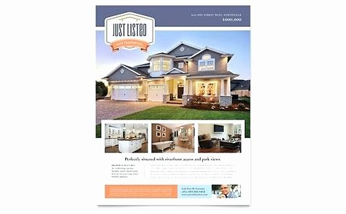 Real Estate Market Update Template Elegant Real Estate Marketing Postcard Template Listing Flyer