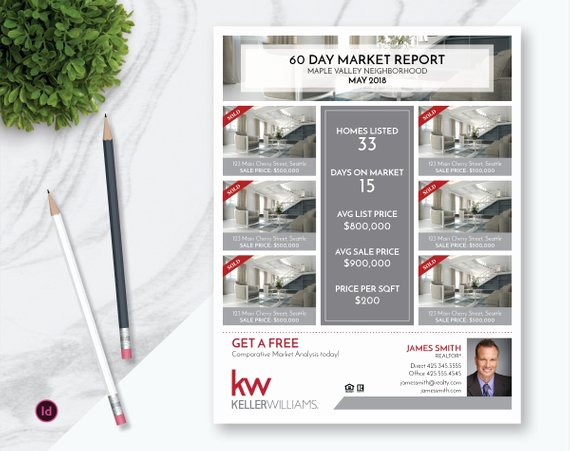 Real Estate Market Update Template Fresh Indesign Real Estate Market Update Flyer Template Real Estate