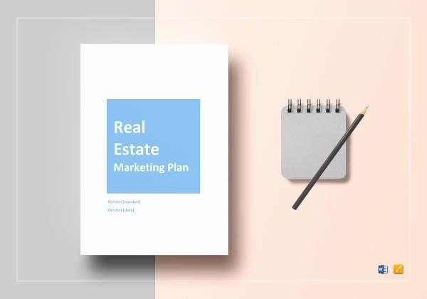 Real Estate Marketing Plan Template Fresh 5 Real Estate Agent Marketing Plan Templates Pdf