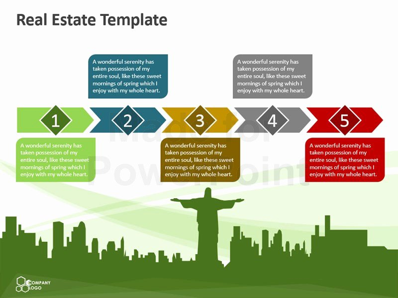 Real Estate Marketing Plan Template Inspirational Real Estate – Editable Powerpoint Template
