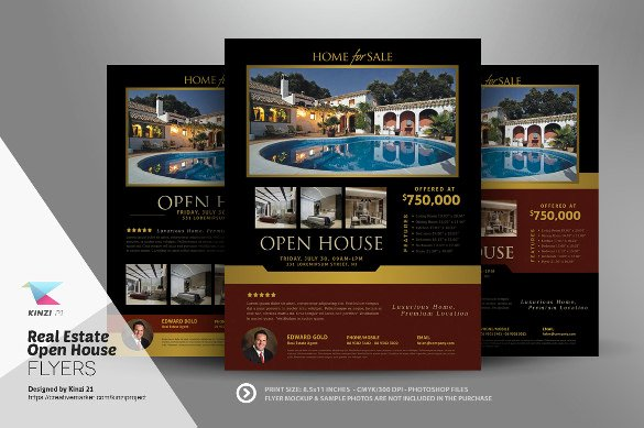 Real Estate Open House Template Awesome Open House Flyer Templates – 39 Free Psd format Download