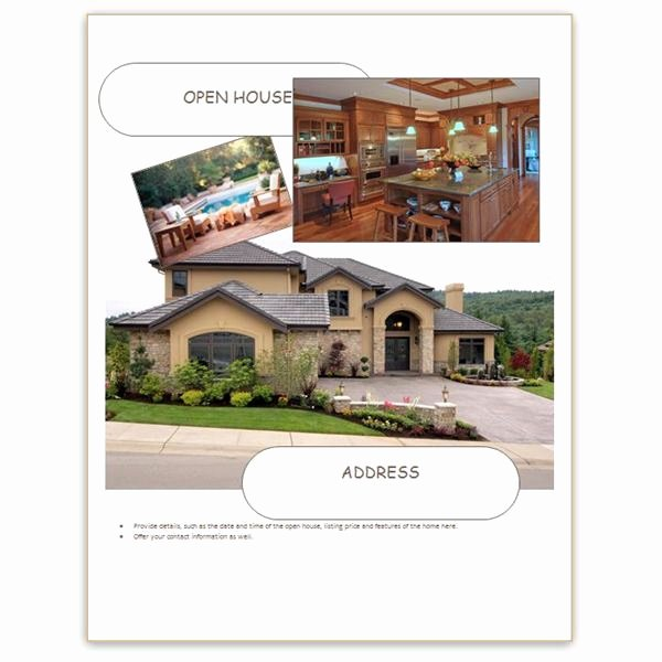 Real Estate Open House Template Beautiful Bright Hub S Guide to Desktop Publishing Freebies Over 50