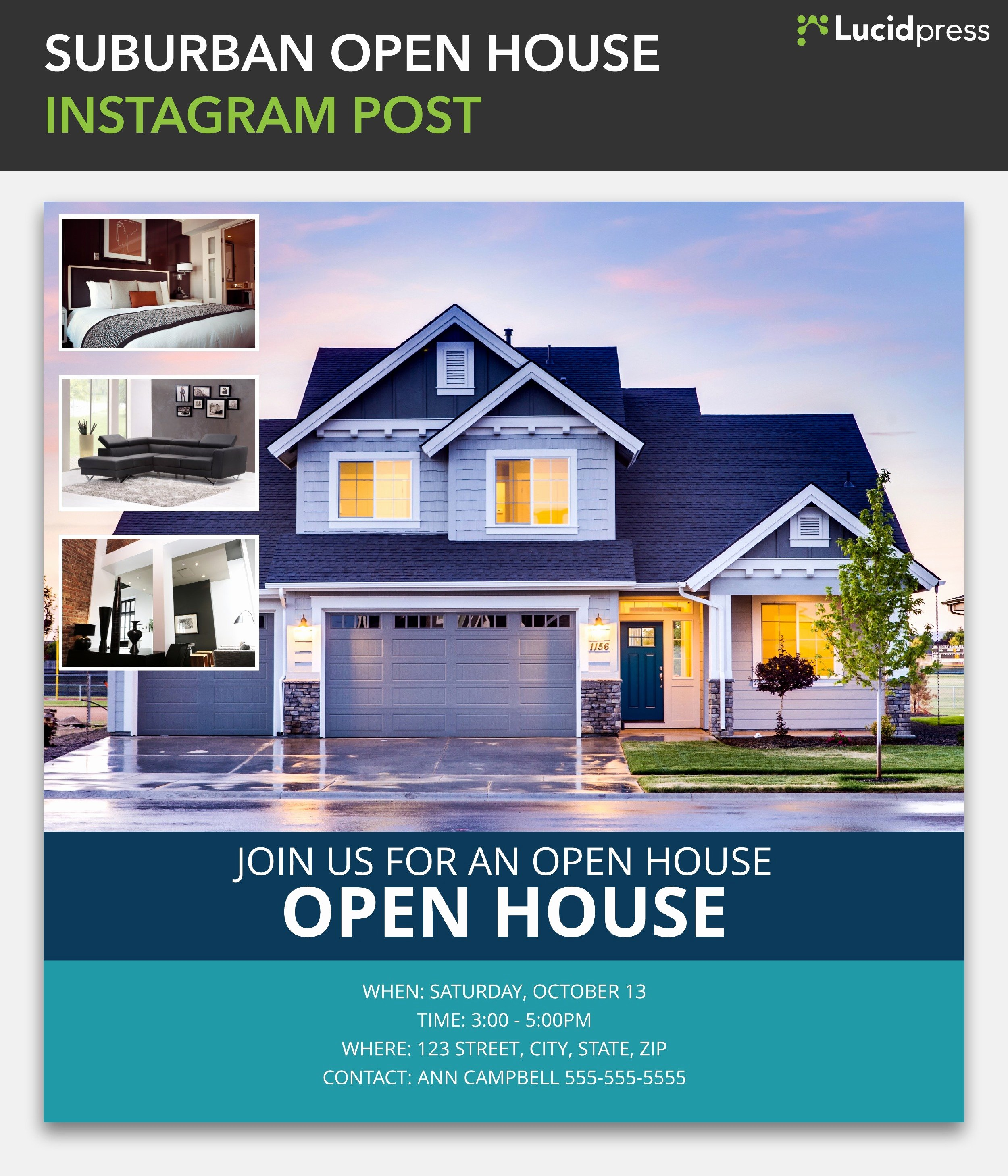 Real Estate Open House Template Inspirational How to Build A social Media Campaign for Real Estate