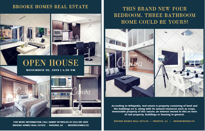 Real Estate Open House Template Luxury 15 Best Free Open House Flyer Templates