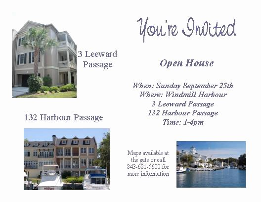 Real Estate Open House Template Luxury Broker Open House Invitation Osminsorg