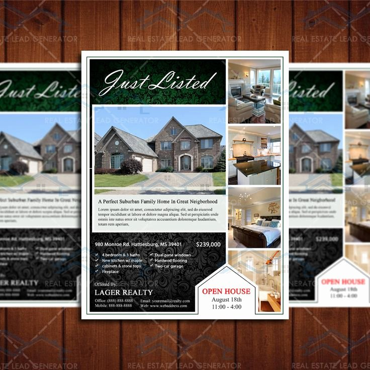 Real Estate Open House Template New 17 Best Images About Open House Flyer Ideas On Pinterest