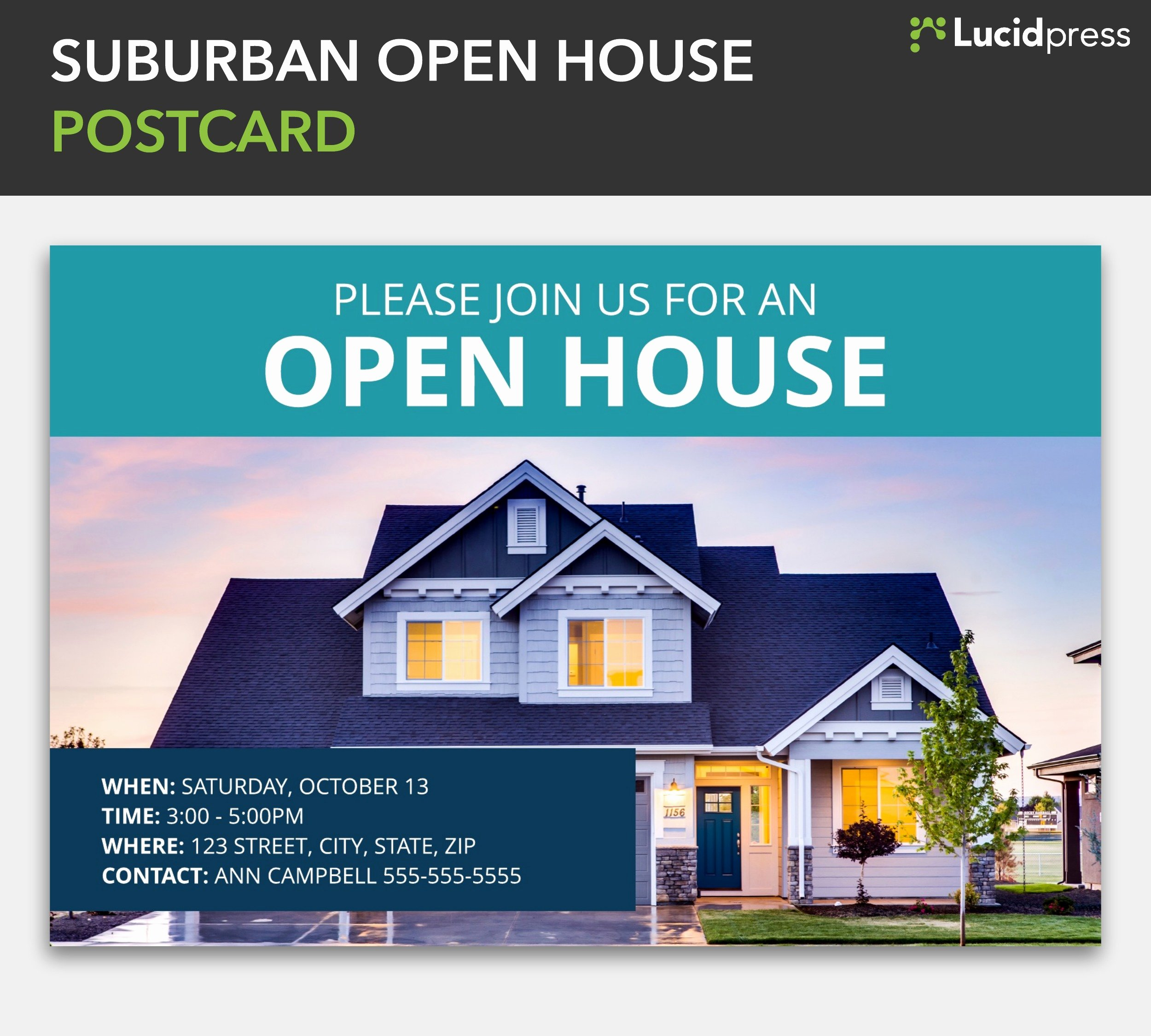Real Estate Open House Template New How to Build A social Media Campaign for Real Estate