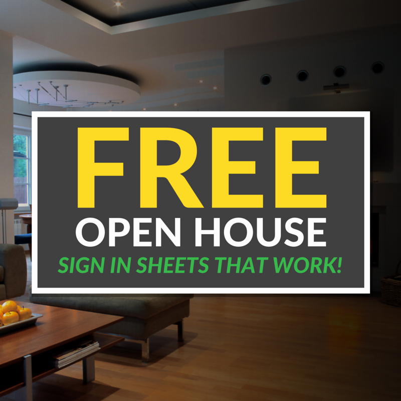 Real Estate Open House Template New Open House Sign In Sheet Printable Templates Free & Ready