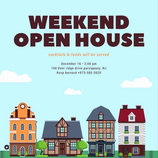 Real Estate Open House Template Unique Customize 498 Open House Invitation Templates Online Canva