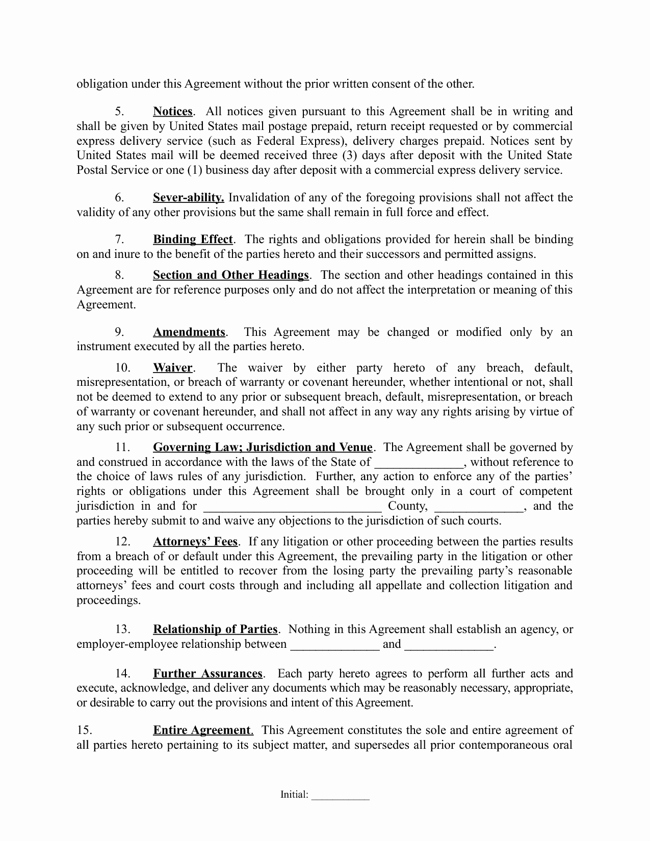 Real Estate Partnership Agreement Template Inspirational Partnership Agreement 1 Real Estate Investing