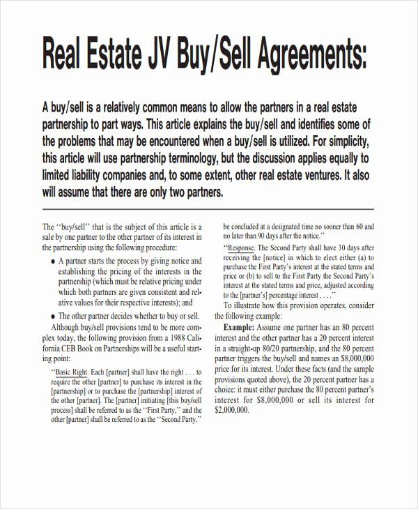 Real Estate Partnership Agreement Template New 49 Examples Of Partnership Agreements