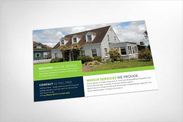 sample realtor postcard