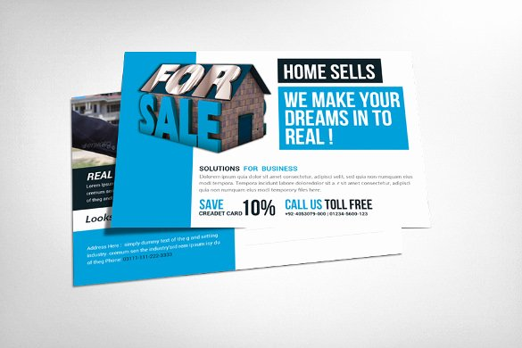 Real Estate Postcard Template Elegant 18 Real Estate Postcard Templates – Free Sample Example