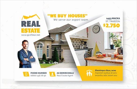 Real Estate Postcard Template Elegant Real Estate Postcard Template – 22 Free Psd Vector Eps