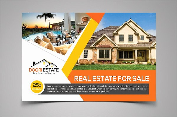 Real Estate Postcard Template Fresh Real Estate Postcard Template 25 Psd Ai Eps format