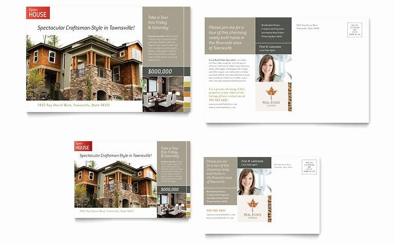 Real Estate Postcard Template Inspirational Free Postcard Template Word & Publisher Templates