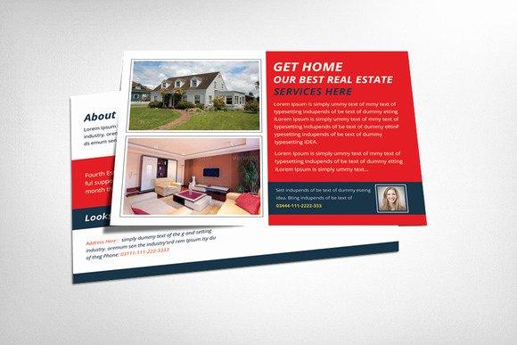 Real Estate Postcard Template Inspirational Real Estate Postcard Template Flyer Templates On