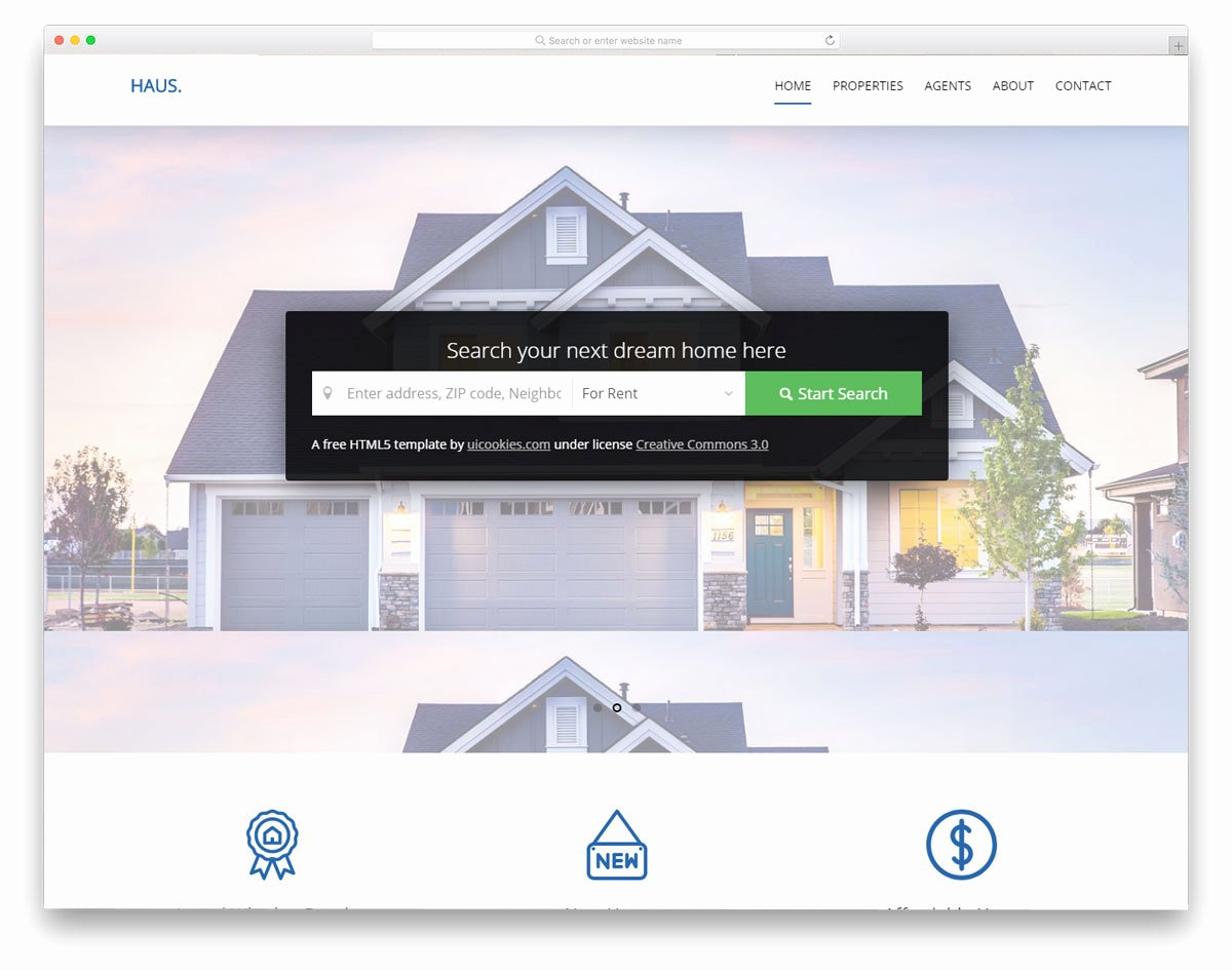 Real Estate Website Template Awesome 21 Best Free Real Estate Website Templates for Successful