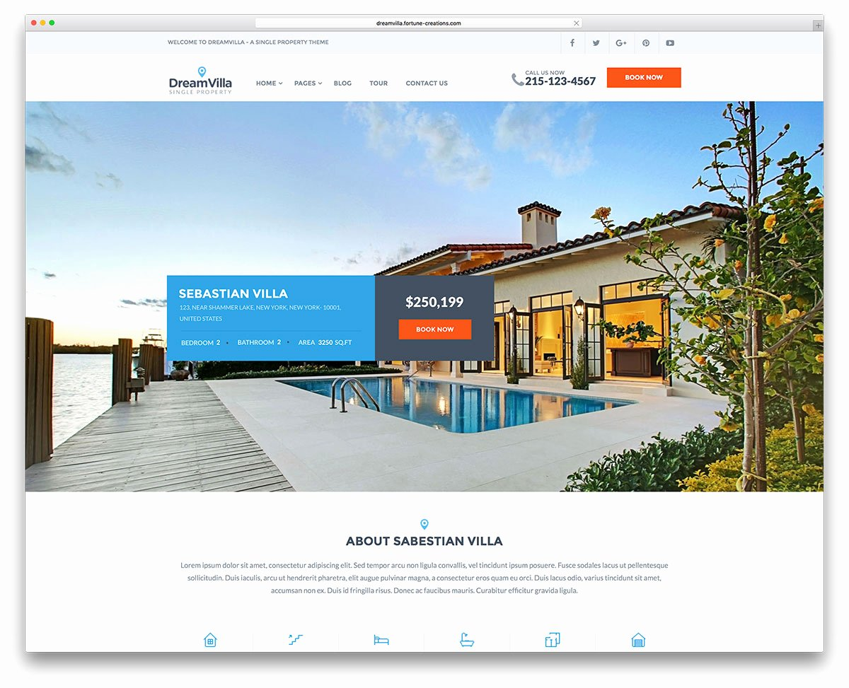 Real Estate Website Template Beautiful Plete Study Guide for Wordpress Website Building – Page