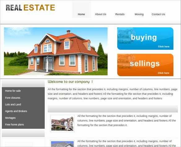 Real Estate Website Template Best Of 23 Realtor Website themes & Templates