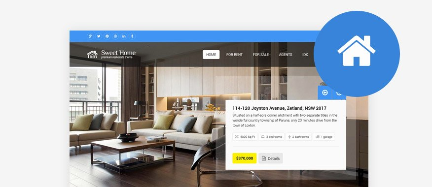 Real Estate Website Template Best Of 60 Best HTML Real Estate Website Templates 2017