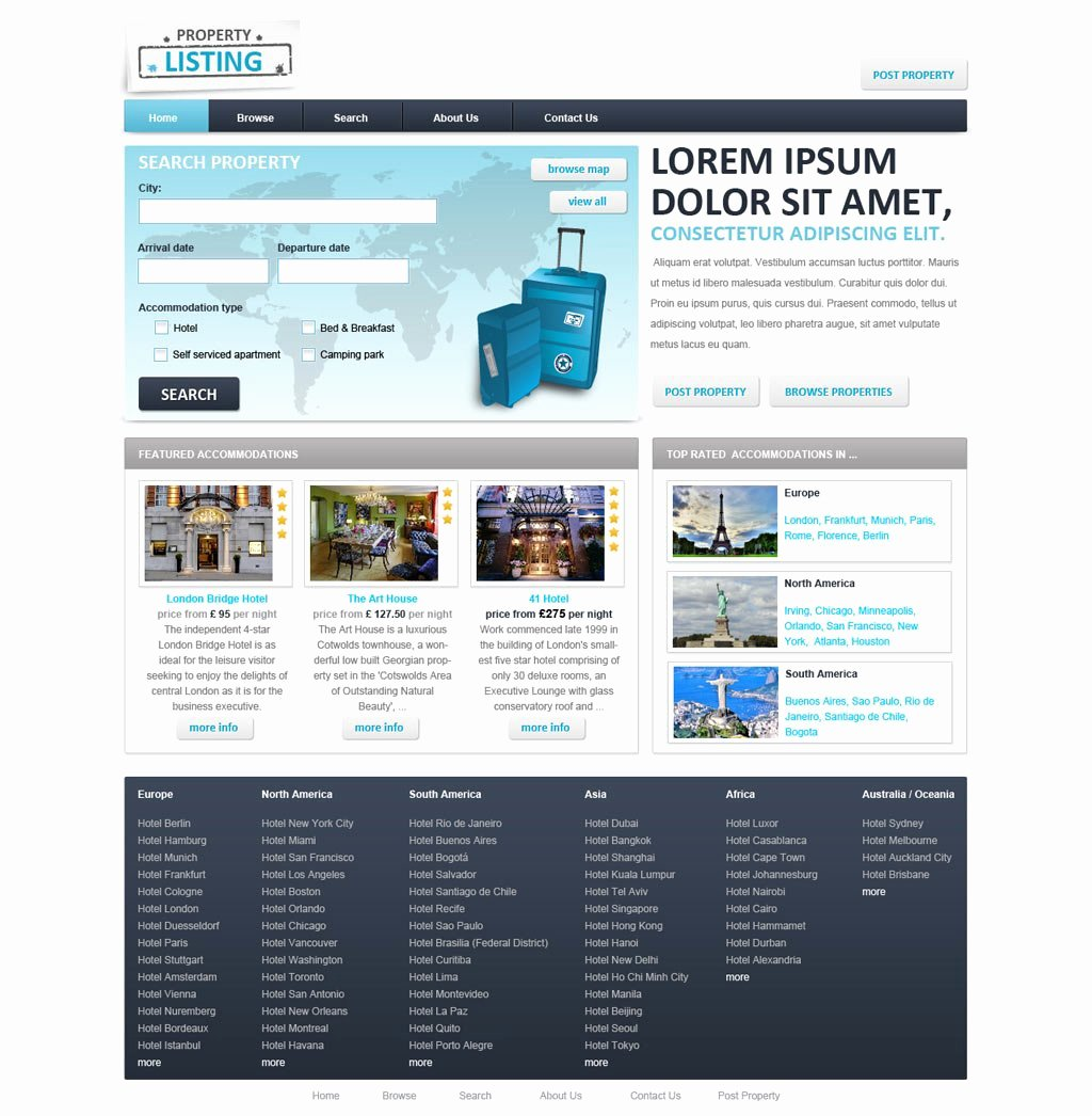 Real Estate Website Template Best Of Real Estate Website Template