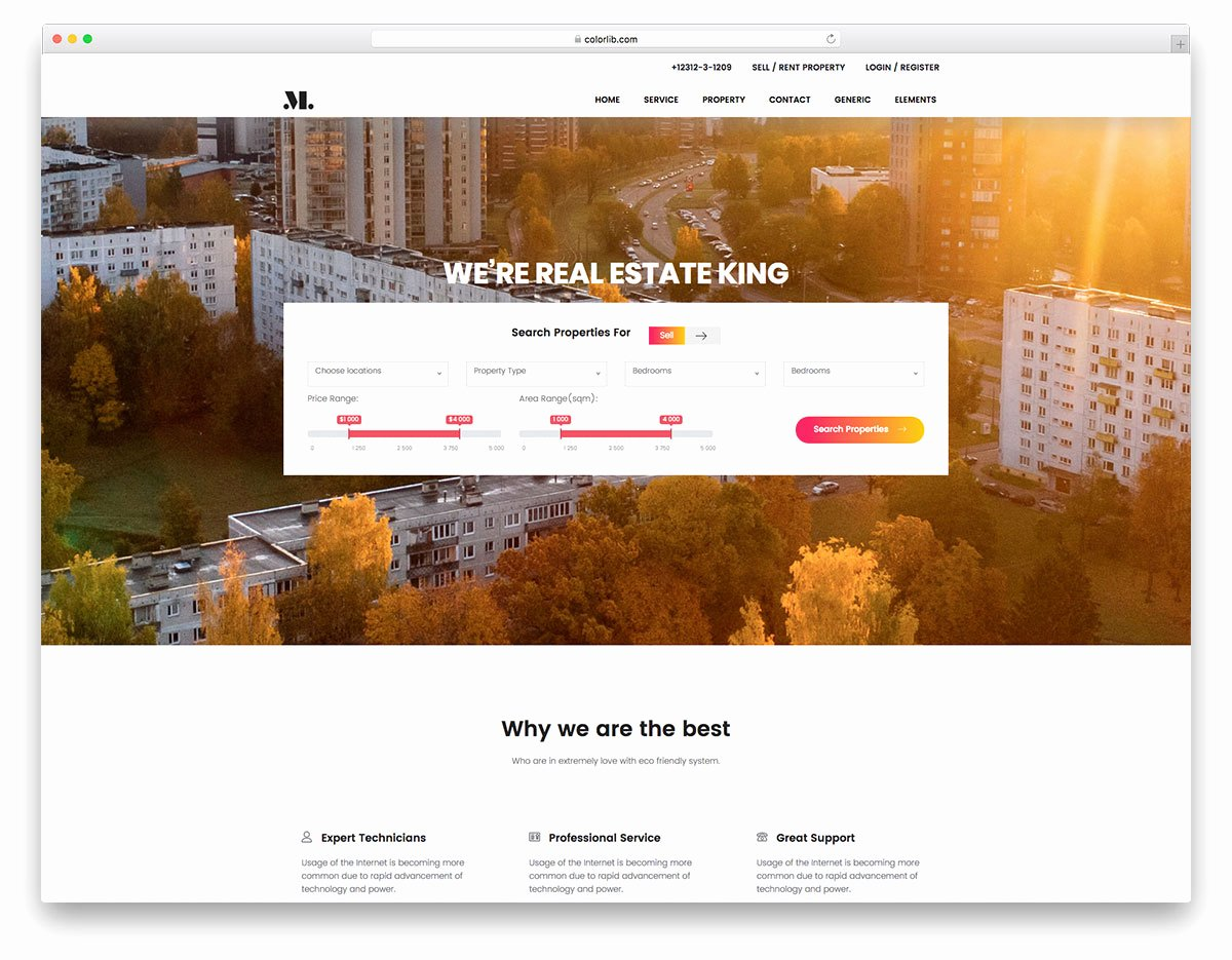 Real Estate Website Template Elegant Real Estate Free Real Estate Website Template Colorlib