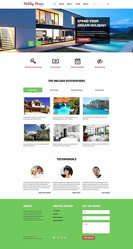 Real Estate Website Template Elegant Real Estate Website Template