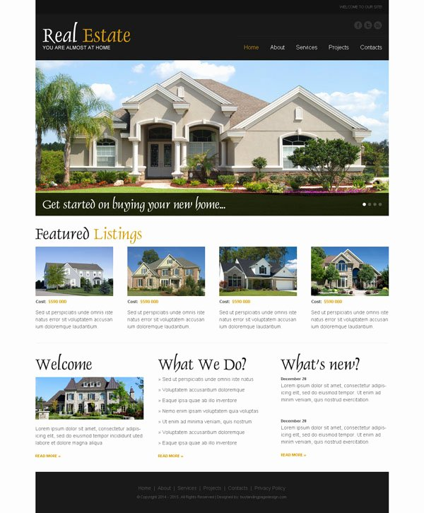 Real Estate Website Template Fresh Best Real Estate Website Designs to Create Your Online Website