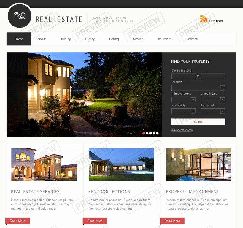 Real Estate Website Template New 30 Powerful Real Estate Website Templates Want to Stand