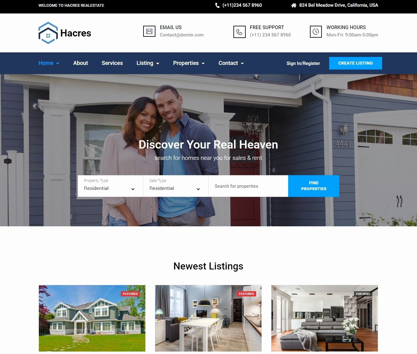 Real Estate Website Template Unique 20 Professional Real Estate Website Template for Realtors