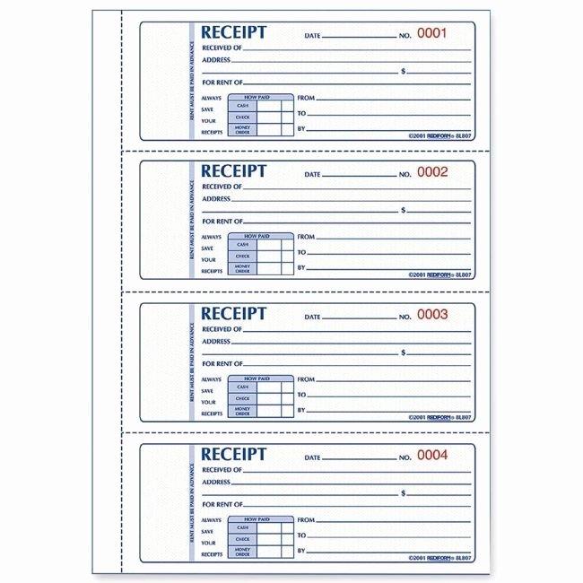 Receipt Template Free Printable Elegant Free Printable Receipts