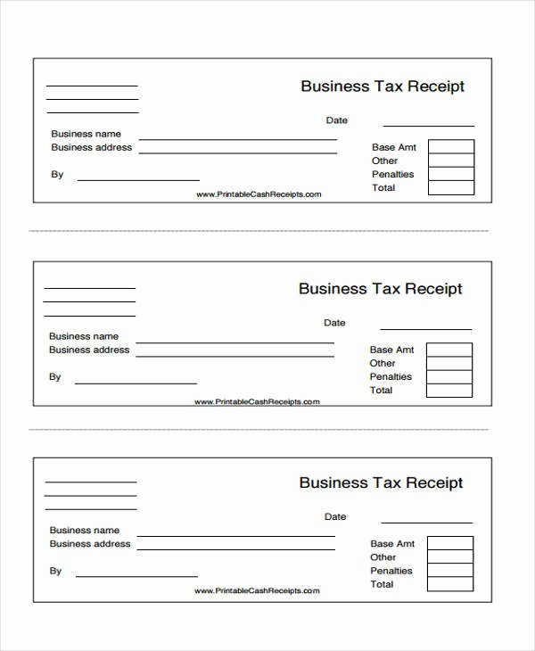 Receipt Template Free Printable New 45 Printable Receipt Templates