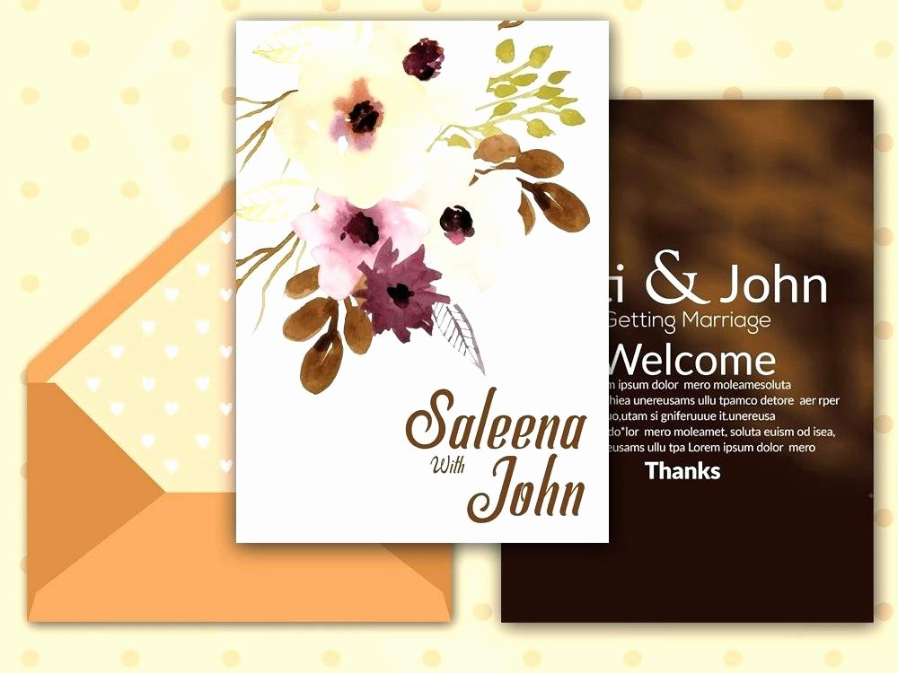 Reception Cards Template Free Inspirational Reception Card Template Elopement Reception Invitation