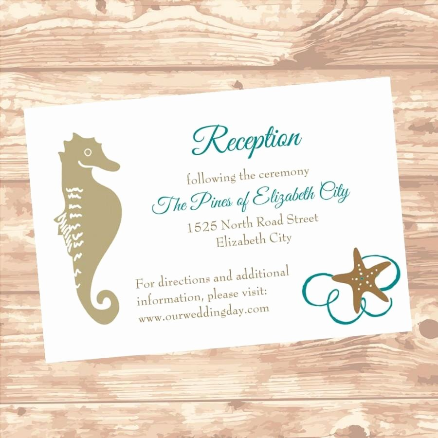 Reception Cards Template Free Luxury Wedding Reception Information Insert Card Diy Template