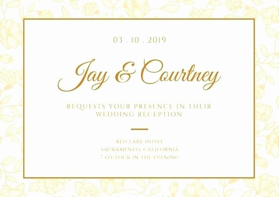 Reception Cards Template Free New Ng Party Invitation Card Sample Border Templates Free Word
