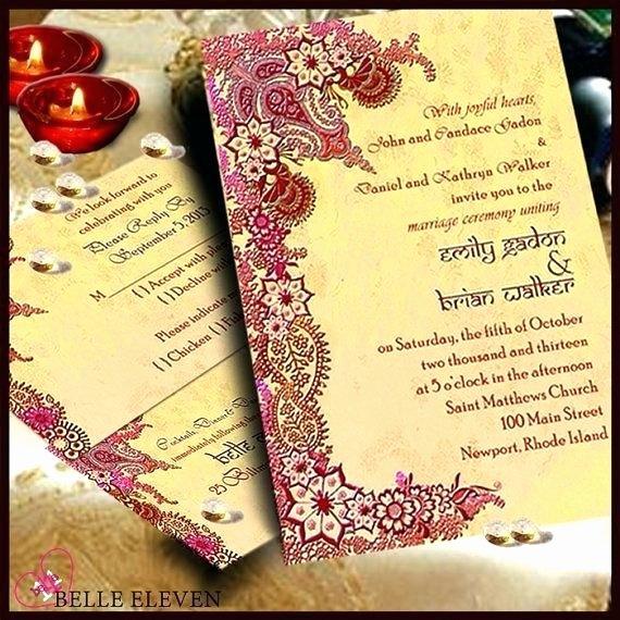 Reception Cards Template Free Unique Invitation Wording Sample Editable Indian Wedding