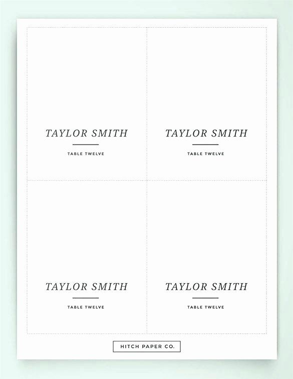 Reception Cards Template Free Unique Wedding Name Card Template Place Cards Indian Invitation
