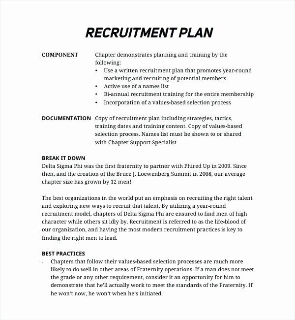 Recruiting Strategic Plan Template Best Of Recruitment Action Plan Template – Azserverfo