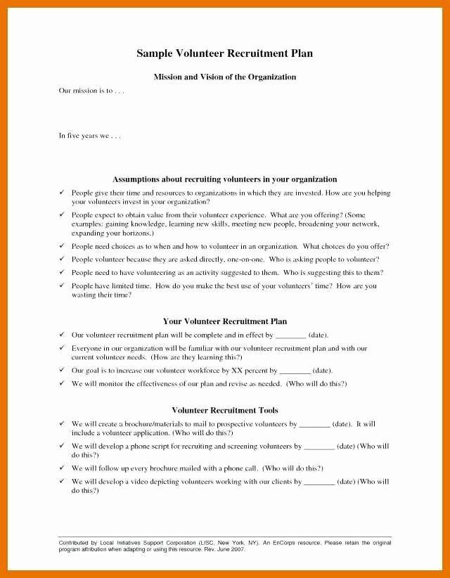 Recruiting Strategic Plan Template Fresh 6 7 Recruiting Plan