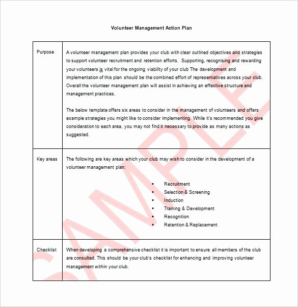 Recruitment Action Plan Template Inspirational Sample Recruitment Plan format Staffing Template