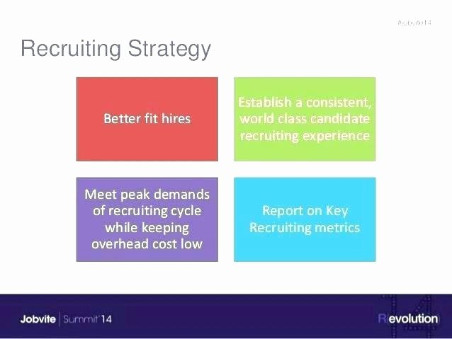 Recruitment Strategy Planning Template Lovely Recruiting Metrics Template Recruiting Plan Template