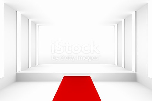 Red Carpet Backdrop Template Awesome Blank White Empty Podium with Red Carpet for Backdrop