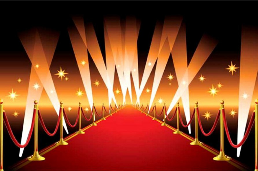 Red Carpet Backdrop Template Awesome Celebrity Hollywood Gold Star Vip Red Carpet Scene Photo