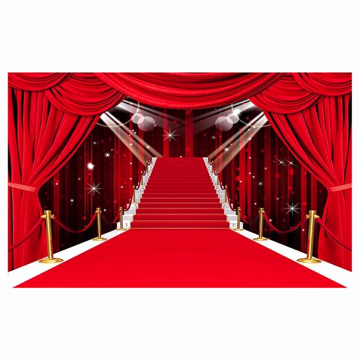 Red Carpet Backdrop Template Awesome Oscars Red Carpet Backdrop