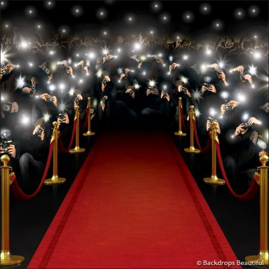 Red Carpet Backdrop Template Elegant Hollywood Red Carpet Background