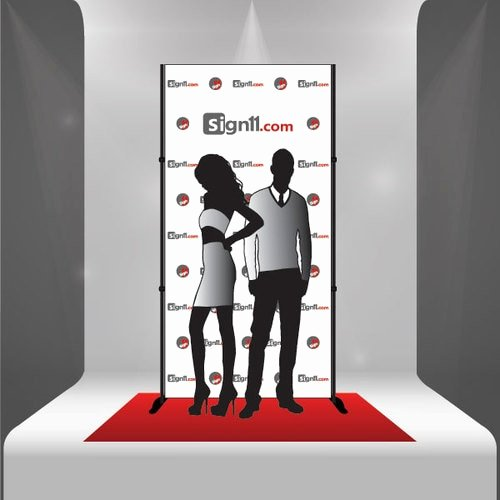 Red Carpet Backdrop Template Elegant Red Carpet Backdrop 4 X8 Sign11