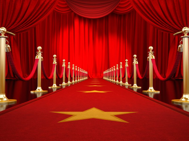 "Red Carpet Backdrop Template Elegant Red Carpet is Ready for ""bring Out the Gutsy In You"" event"