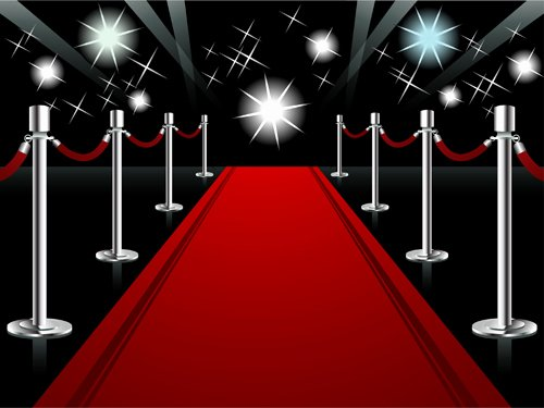 Red Carpet Backdrop Template Inspirational ornate Red Carpet Backgrounds Vector 05