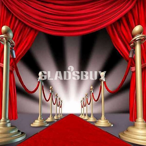 Red Carpet Backdrop Template Inspirational Stage Red Carpet 10ft X 10ft Wedding Backdrop Puter Printed